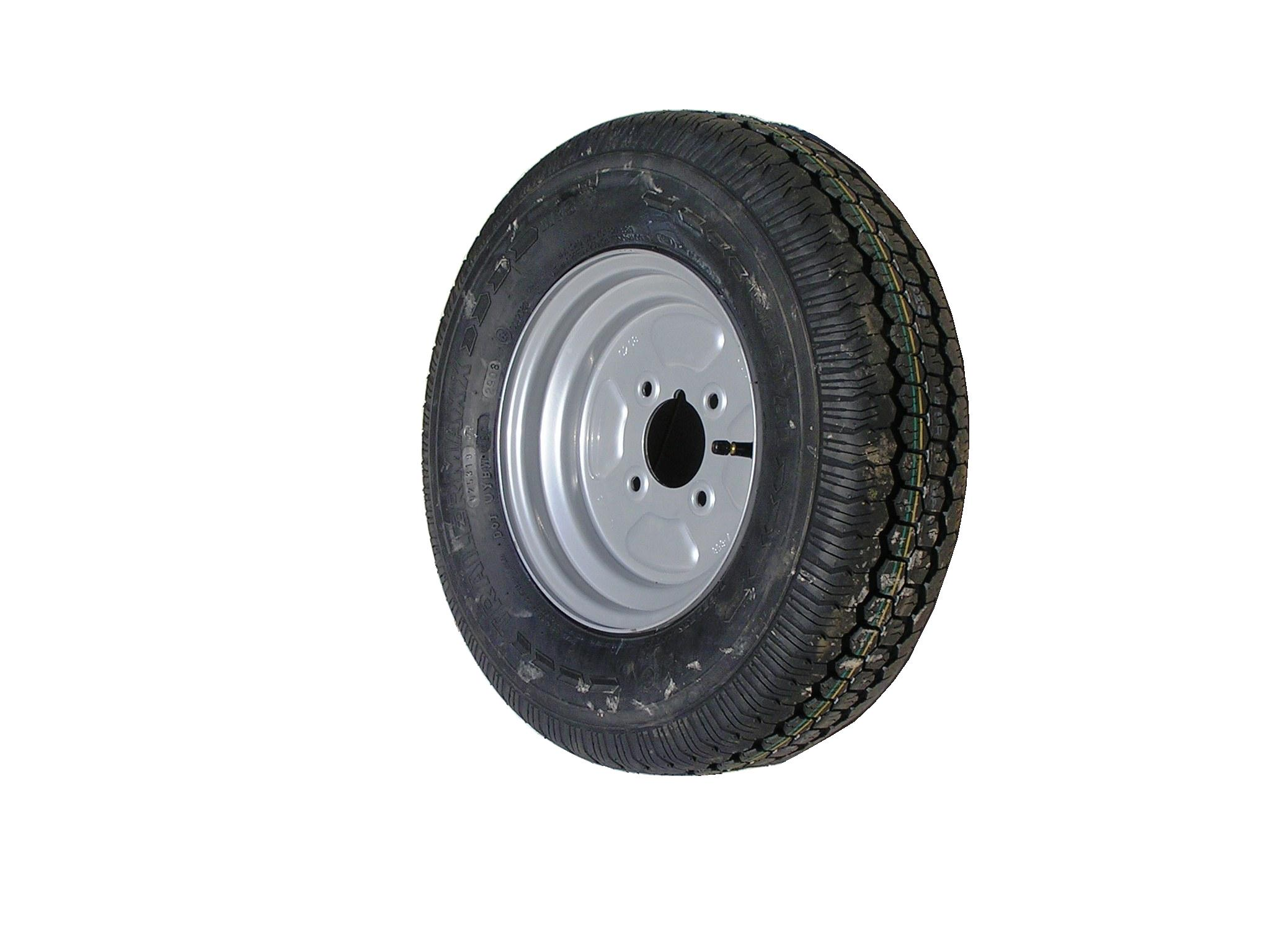 145 R10 4in PCD WHEEL AND TYRE